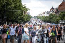 Unjuk Rasa Pecah di Berlin Tolak Pembatasan Covid-19, 600 Orang Ditahan
