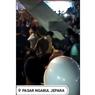 Viral, Video Bentrokan Pedagang Vs Aparat di Pasar Ngabul Jepara, Ini Faktanya