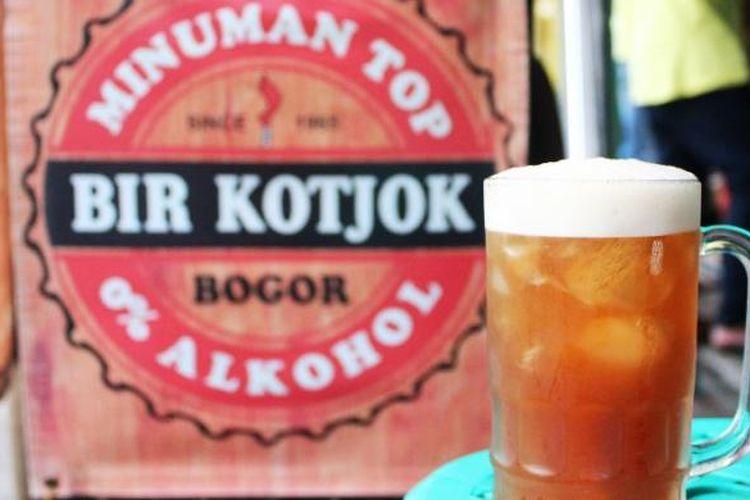Bir Kotjok, salah satu minuman tradisional khas Bogor yang kini sulit dijumpai.