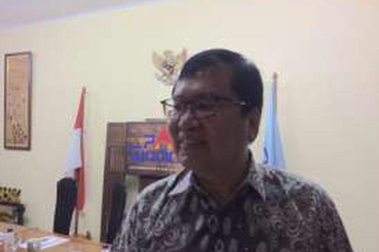 Wakil Ketua Setara Institute, Bonar Tigor Naipospos usai diskusi di Sekretariat Para Syndicate, Jakarta, Jumat (9/12/2016).