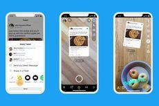Kicauan di Twitter Bisa Langsung Dibagikan ke Snapchat