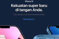 iPhone 13 Sudah Dipajang di Situs Apple Indonesia