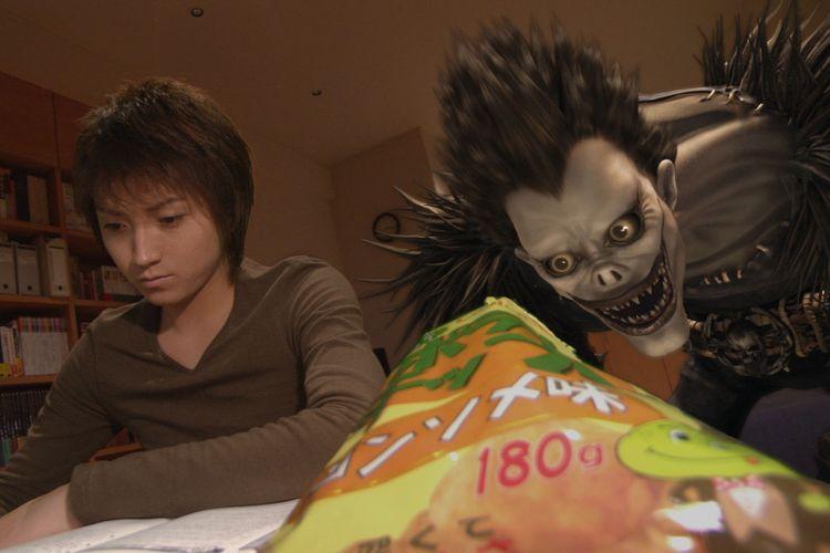 Salah satu adegan dalam film Anime Death Note live-action