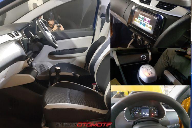 Interior Renault Triber