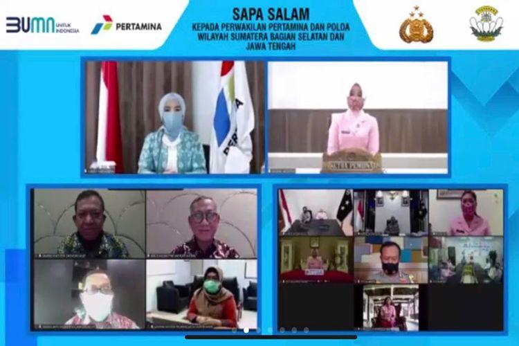 Bantu Pendidikan Anak Saat Pandemi, Pertamina Gandeng Polri dan YKB Salurkan 542 Laptop ke 34 Provinsi