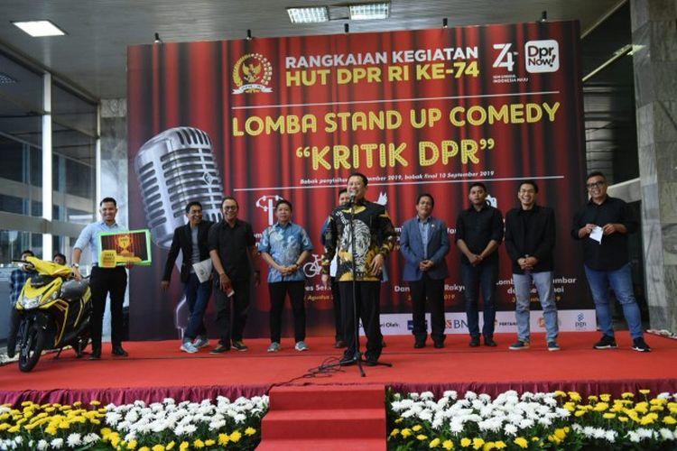 Butuh Kritik Membangun, DPR RI Selenggarakan Lomba Stand Up Comedy