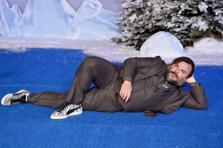 Aktor Jack Black sat menghadiri gala premiere film Jumanji: The Next Level di Hollywood, California