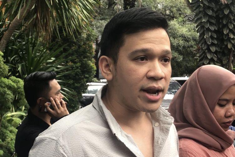 Jordi Onsu saat dijumpai di Ditreskrimsus Polda Metro Jaya, Jakarta Selatan, Kamis (6/2/2020).