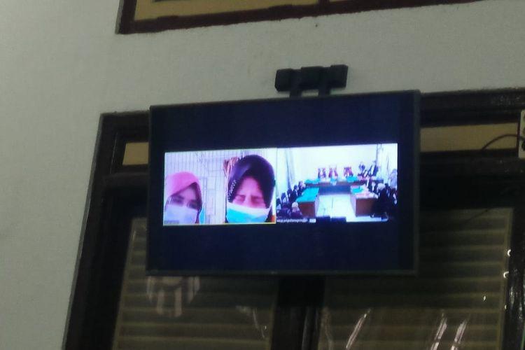 Majelis Hakim Pengadilan Negeri Medan memvonis Ketua KAMI Medan, Khairi Amri dengan hukuman satu tahun penjara melalui sidang vonis secara virtual, Rabu (19/5/2021).