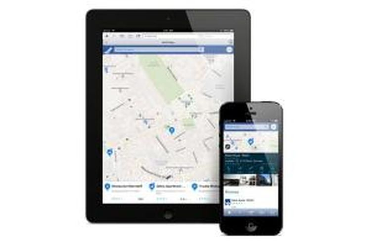 Aplikasi Nokia Here di perangkat Apple iPad dan iPhone