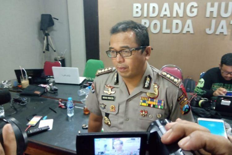 Kabid Humas Polda Jawa Timur Frans Barung Mangera
