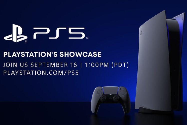 Poster acara PlayStation 5 Showcase.