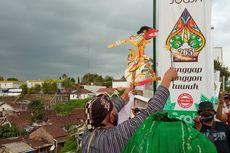 Kritik Wacana Pembubaran Densus 88, Warga Yogyakarta Larung Wayang Buto Cakil, Ini Maknanya