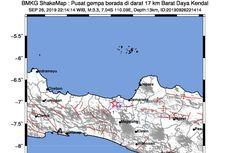 Kendal Jawa Tengah Diguncang Gempa, Bukti Sesar Semarang Masih Aktif