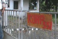 Kantor Disegel Satpol PP, KPU Simalungun Lumpuh