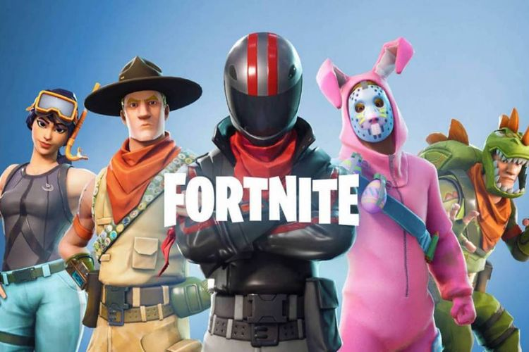 ilustrasi game Fortnite