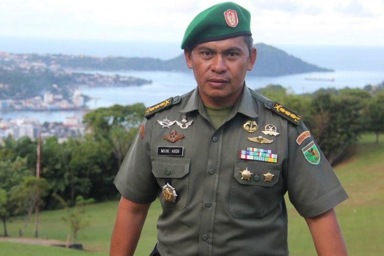 Kapendam 17 Cenderawasih Kolonel Inf Muhammad Aidi