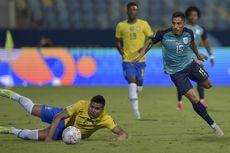 Hasil Brasil Vs Ekuador - Imbang, Tim Samba Gagal Jaga Kesempurnaan