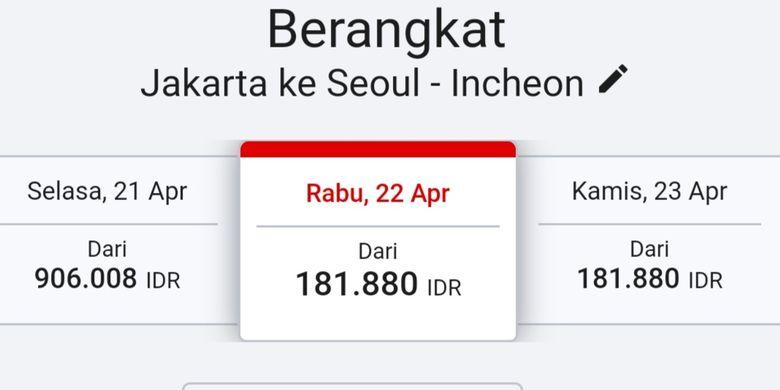 Tiket ke Seoul dari Jakarta di AirAsia.