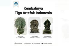 Penjelasan Kemendikbud soal Penemuan 3 Artefak Indonesia yang Digelapkan di AS