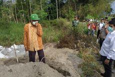 Limbah Buangan di Kediri Sementara Ditutup Terpal dan Tanah