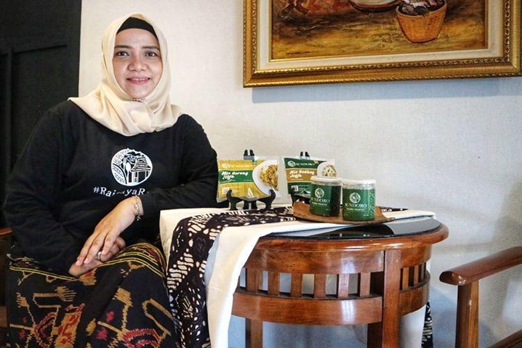 Bintari Saptanti berhasil menjual bakmi Yogya kemasan hingga ke Kanada.