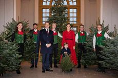 4 Dekorasi Pohon Natal ala Keluarga Kerajaan