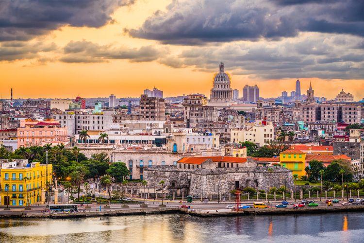 Ilustrasi Havana, Kuba