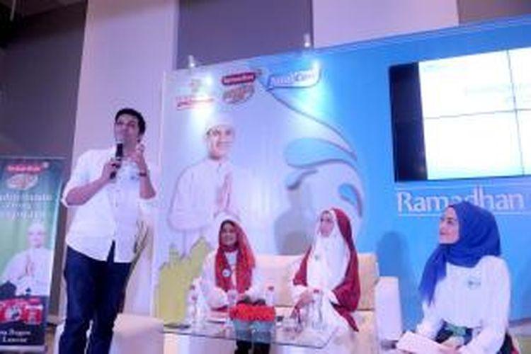 Peluncuran program Ramadhan Total Plus.
