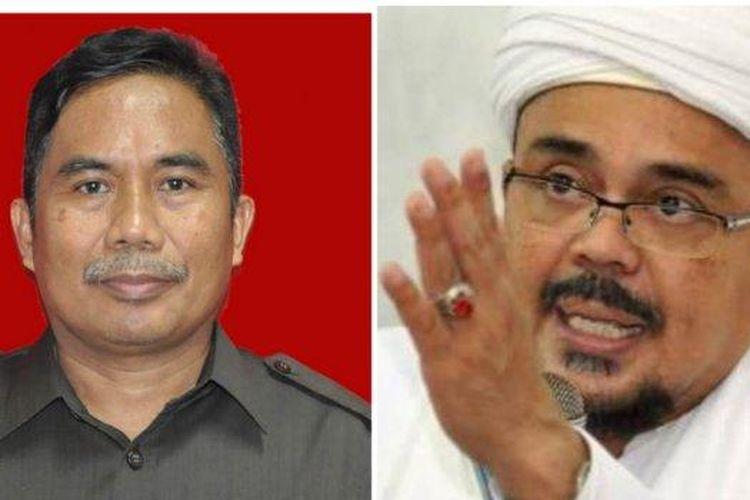 Hakim Suparman Nyompa (Kiri) akan memimpin jalannya sidang Rizieq Shihab di PN Jakarta Timur, Selasa (16/3/2021).