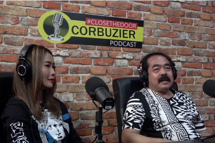 Pasangan Inul Daratista dan Adam Suseno menjadi bintang tamu podcast Deddy Corbuzier.