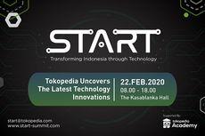 Tokopedia Gelar Konferensi Teknologi Pertama 'START' di Februari 2020 Mendatang