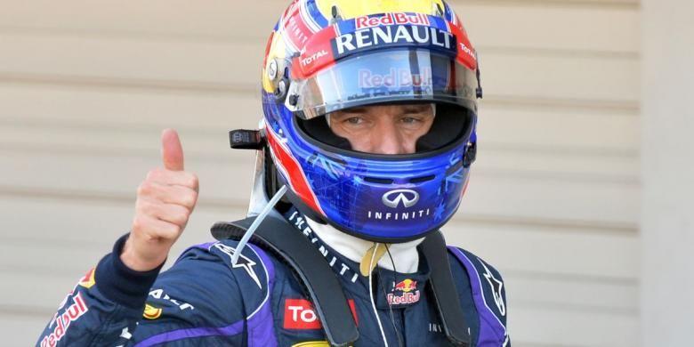 Pebalap F1 dari tim Red Bull, Mark Webber, menempati posisi terdepan dalam sesi kualifikasi pada Sabtu (12/10/2013) jelang Grand Prix di Suzuka, Jepang.