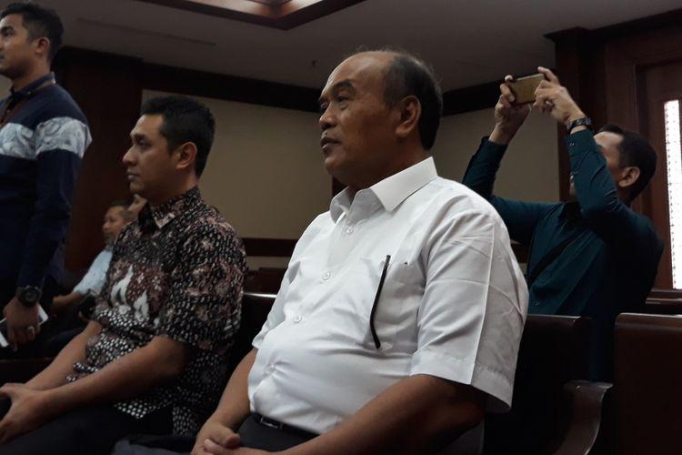 Mantan Direktur PT Jasindo, Budi Tjahjono di Pengadilan Tipikor Jakarta, Rabu (5/12/2018).