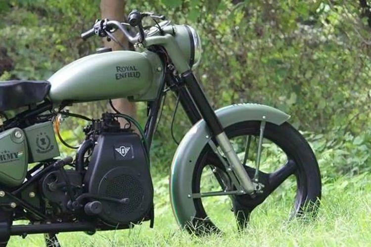 Royal Enfield Taurus, sepeda motor dengan mesin diesel