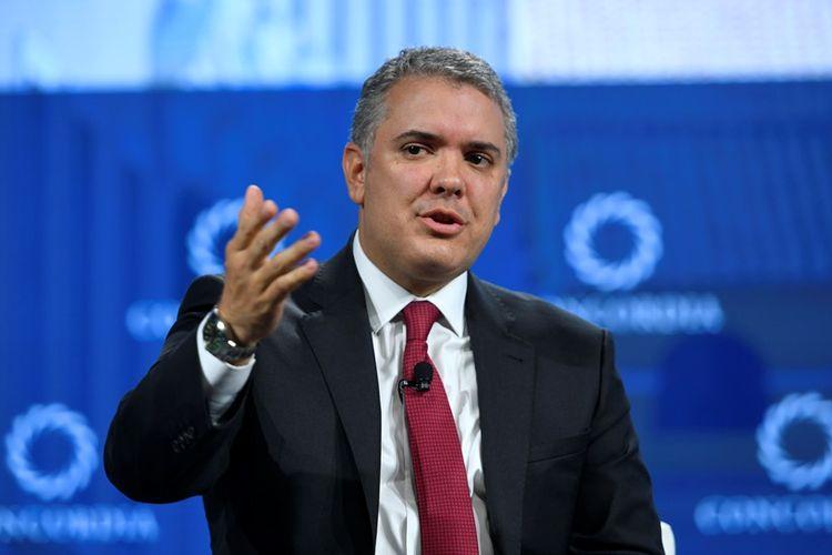 Presiden Kolombia Ivan Duque Marquez.