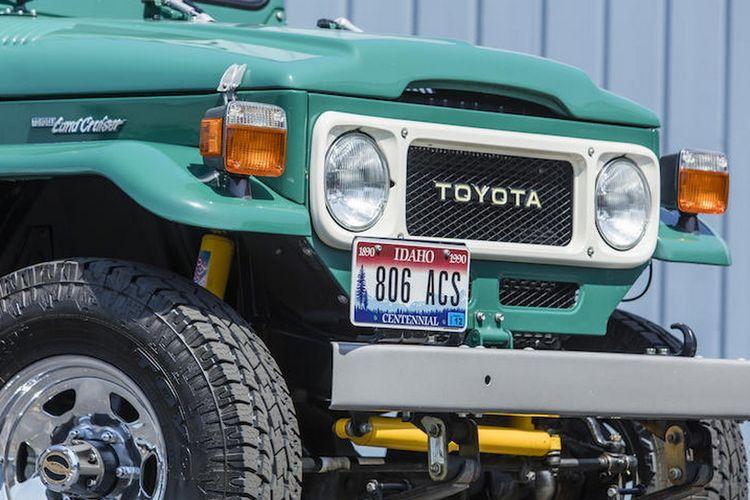 Toyota FJ40 Tom Hanks dilelang