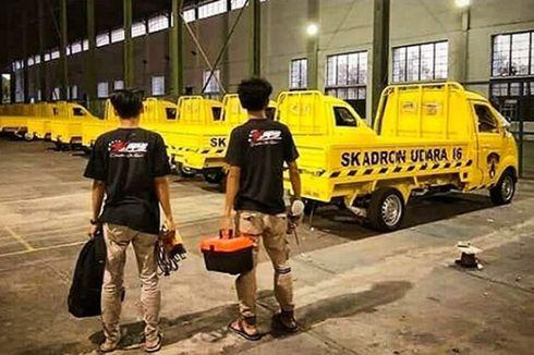 Berkelir Kuning, Esemka Bima Jadi Mobil Operasional TNI AU