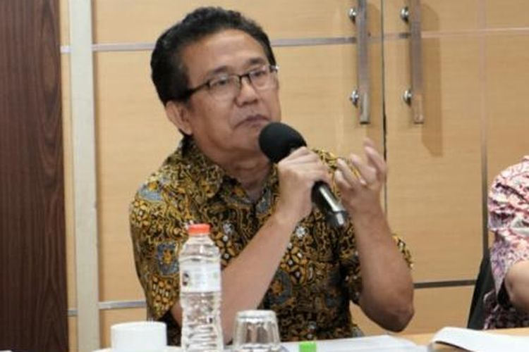 Sekretaris Umum Persekutuan Gereja-Gereja di Indonesia (PGI) Gomar Gultom dalam sebuah diskusi bertajuk Hak Hidup dan Hukuman Mati dalam Teologi Agama-Agama di Jakarta, Selasa (6/12/2016).