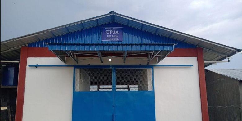 Fasilitas perbengkelan alsintan di Deli Serdang.