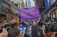 Tusuk Polisi Hong Kong, Pria Ditangkap Saat Hendak ke Inggris