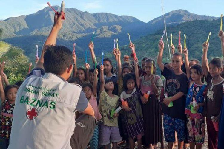 Tim Baznas saat di pedalaman Sulawesi