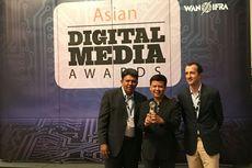 VIK Kompas.com Raih Penghargaan Internasional Asian Digital Awards