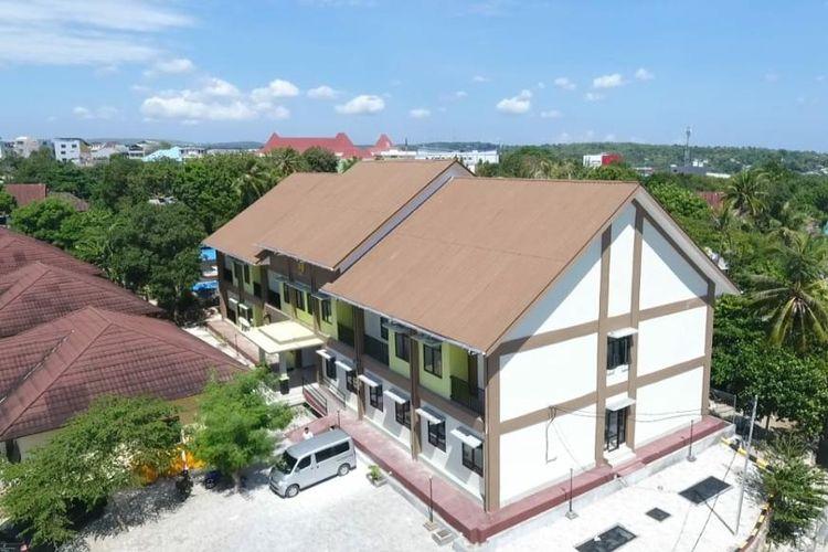 Rumah susun (rusun) untuk Aparatur Sipil Negara Kejaksaan Tinggi Kupang, Nusa Tenggara Timur.
