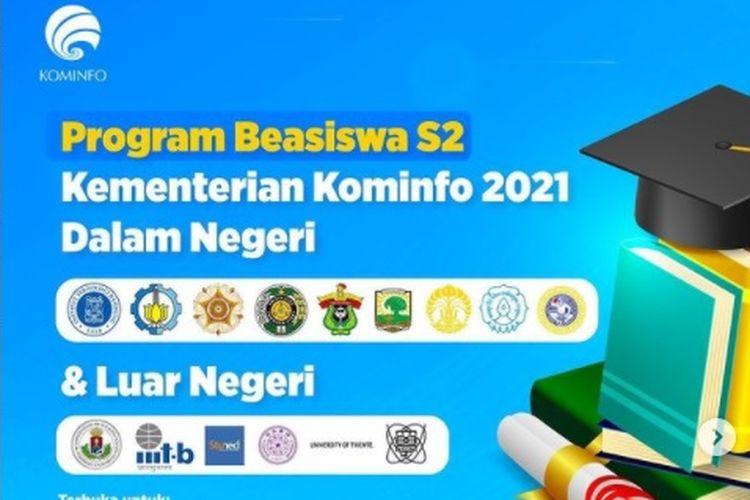 Jadwal dan Syarat Beasiswa S2 Kominfo Tahun 2021 Dalam dan Luar Negeri