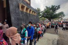 Video Viral Warga Berkerumun Antre Vaksinasi HUT Bhayangkara ke-75, Polisi Terpaksa Bubarkan