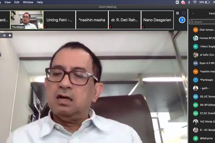 Pengamat Kebijakan Publik Agus Pambagio memberikan opini terkait upaya yang dilakukan seluruh pelaku JKN-KIS selama ini, Rabu (16/12/2020).