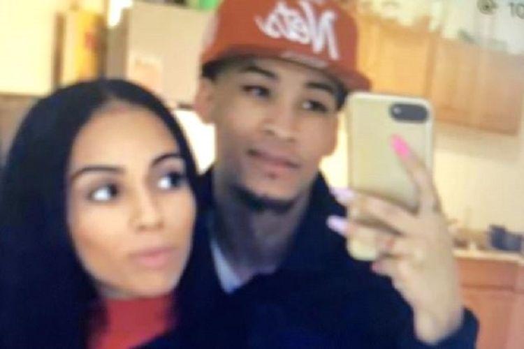 Angel Esteban Felix Rodriguez (atas) dan pacarnya Indira Ramirez-Rivera. Kepada polisi, Rodriguez mengaku membunuh pacarnya.