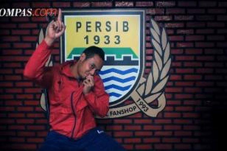 Bintang Persib Bandung, Atep.