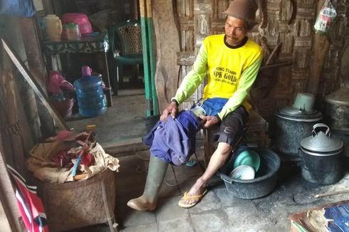 Kisah Penyandang Disabilitas Berbagi Kaki Palsu Gratis, Dibuat dari Besi Rambu Lalu Lintas